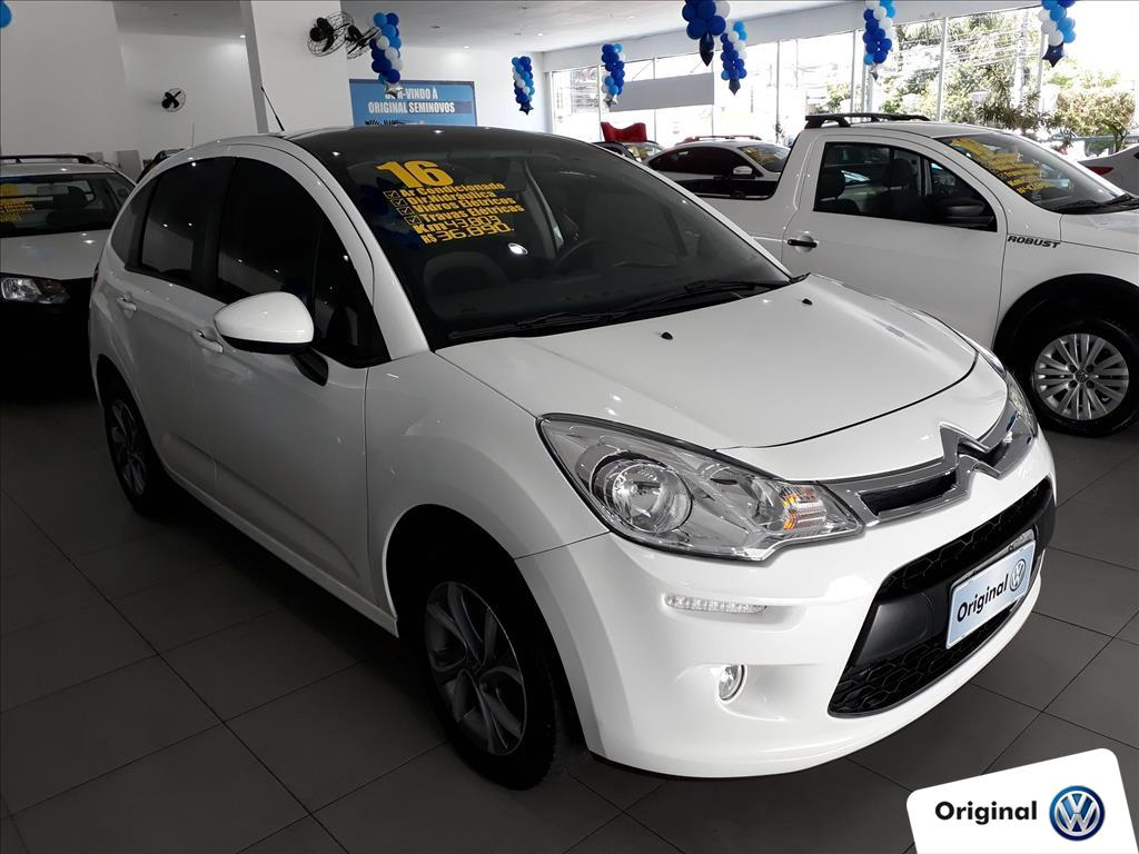 CITROËN C3 2016 - 1.5 TENDANCE 8V FLEX 4P MANUAL