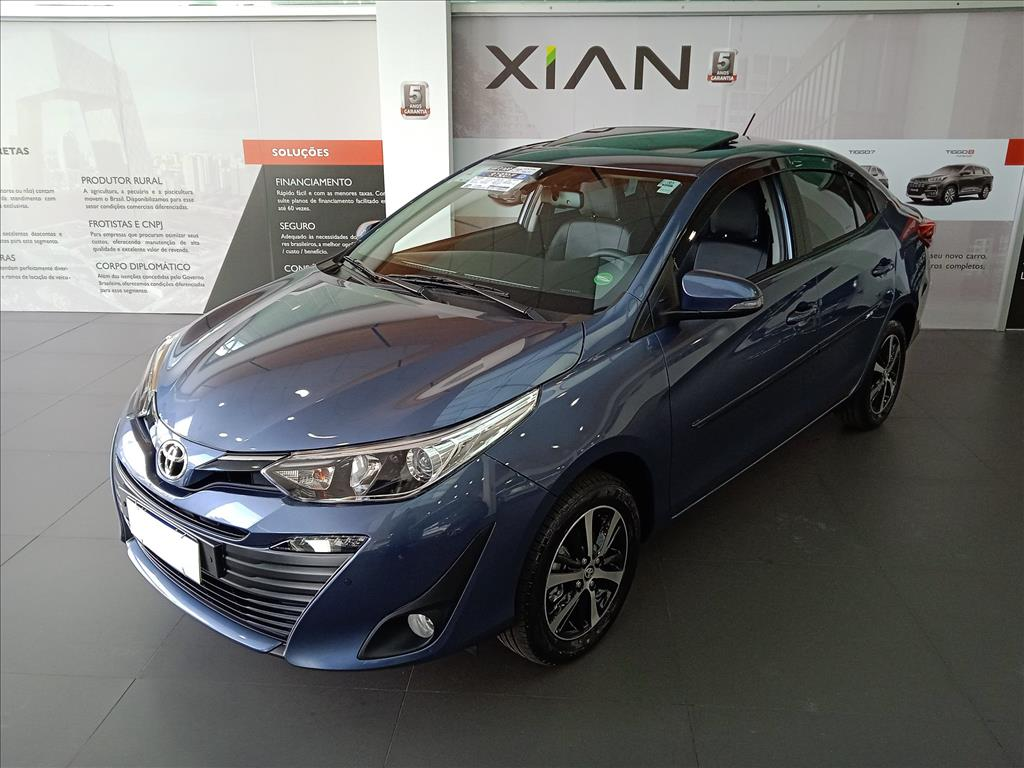 Image Toyota-Yaris-1.5 16v Flex Sedan Xls Connect Multidrive-1034568