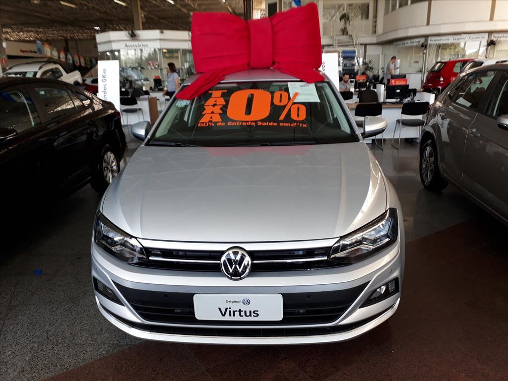VOLKSWAGEN VIRTUS 2019 - 1.0 200 TSI HIGHLINE AUTOMÁTICO