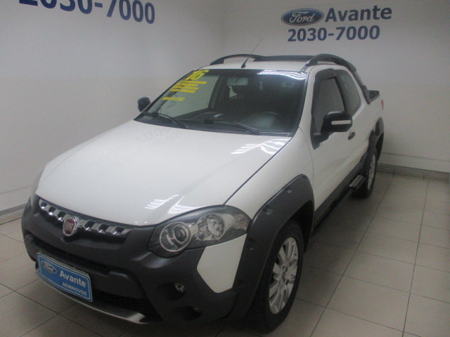 FIAT STRADA 2016 - 1.8 MPI ADVENTURE CD 16V FLEX 3P MANUAL