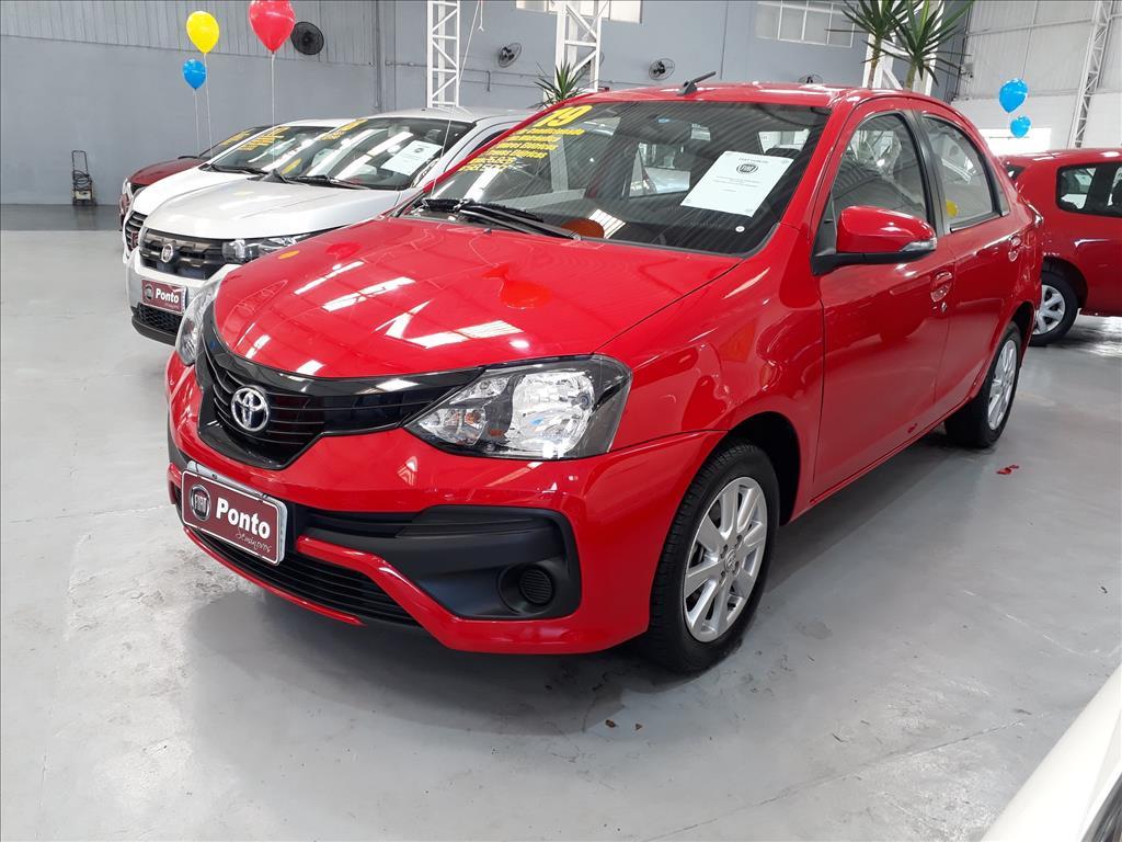 TOYOTA ETIOS 2019 - 1.5 X SEDAN 16V FLEX 4P AUTOMÁTICO