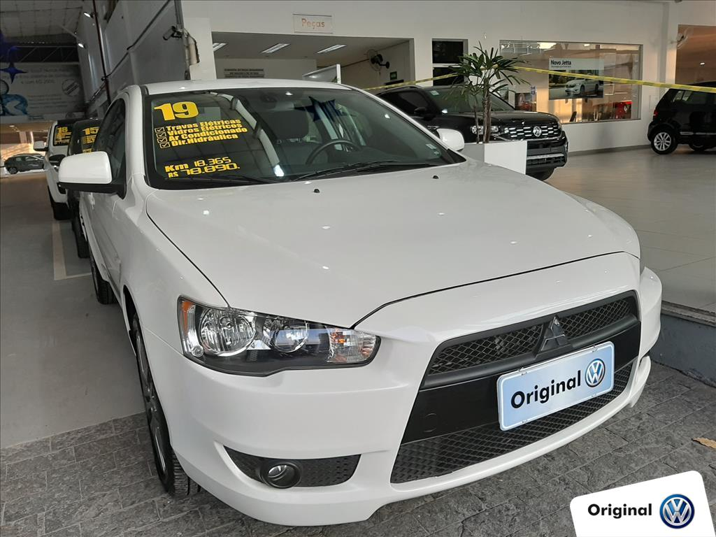 MITSUBISHI LANCER 2019 - 2.0 HL-T 16V GASOLINA 4P AUTOMÁTICO