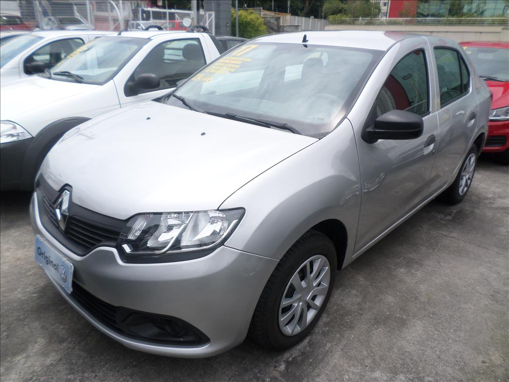 RENAULT LOGAN 2017 - 1.0 12V SCE FLEX AUTHENTIQUE 4P MANUAL