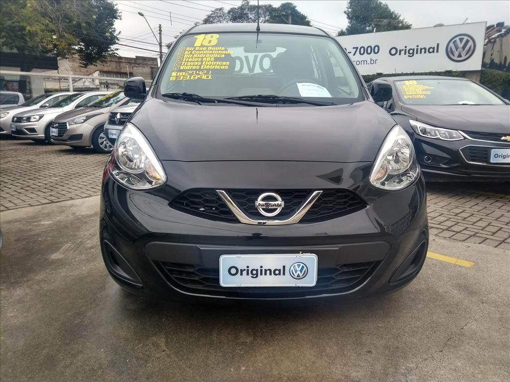 NISSAN MARCH 2018 - 1.0 S 12V FLEX 4P MANUAL