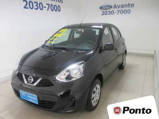NISSAN MARCH 2019 - 1.0 SV 12V FLEX 4P MANUAL