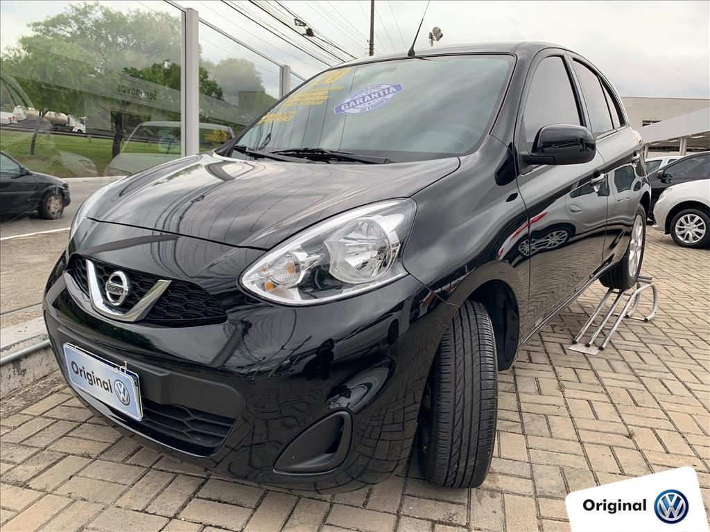 NISSAN MARCH 2020 - 1.0 SV 12V FLEX 4P MANUAL