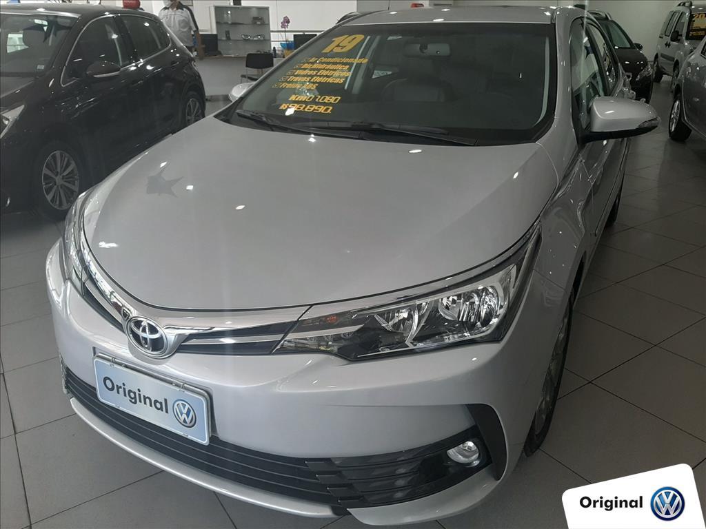 TOYOTA COROLLA 2019 - 2.0 XEI 16V FLEX 4P AUTOMÁTICO