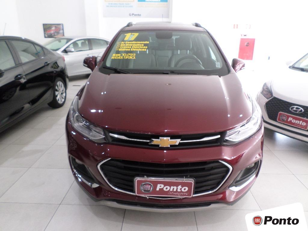 CHEVROLET TRACKER 2017 - 1.4 16V TURBO FLEX LTZ AUTOMÁTICO