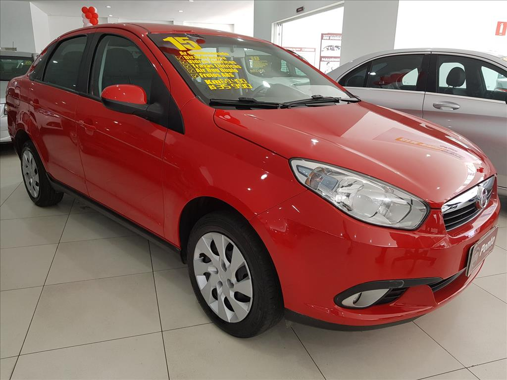 FIAT GRAND SIENA 2015 - 1.4 MPI ATTRACTIVE 8V FLEX 4P MANUAL