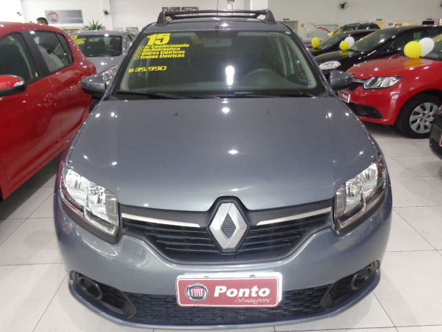 RENAULT SANDERO 2015 - 1.6 EXPRESSION 8V FLEX 4P MANUAL