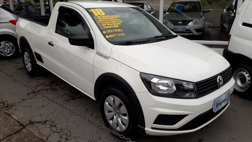 VOLKSWAGEN SAVEIRO 2018 - 1.6 MSI ROBUST CD 8V FLEX 2P MANUAL