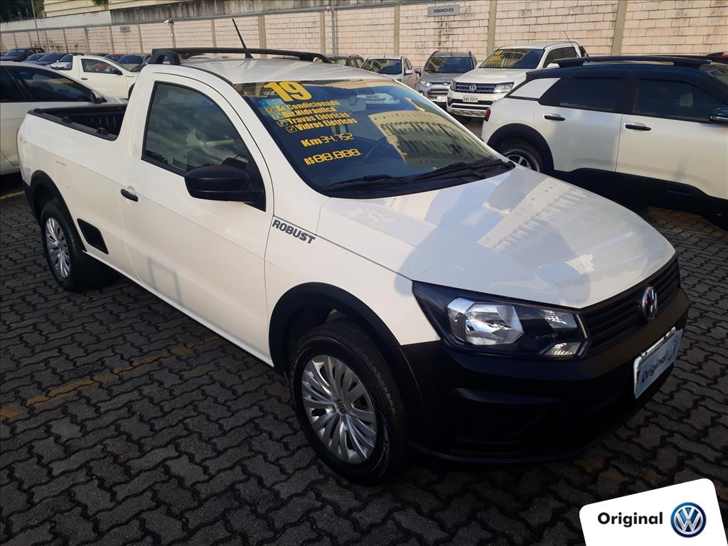 VOLKSWAGEN SAVEIRO 2019 - 1.6 MSI ROBUST CD 8V FLEX 2P MANUAL