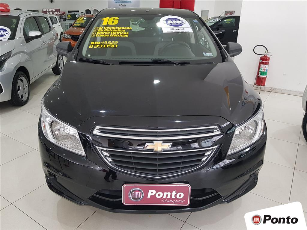 CHEVROLET ONIX 2016 - 1.0 MPFI LT 8V FLEX 4P MANUAL