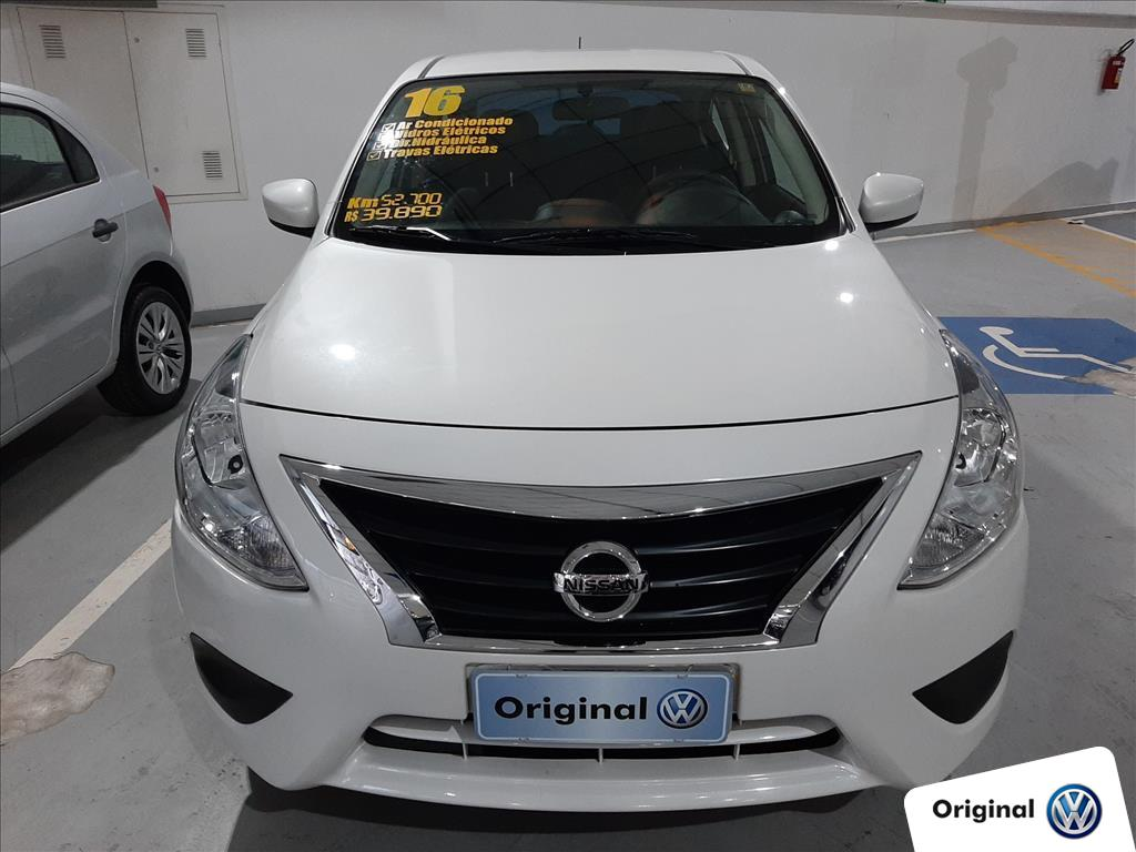 NISSAN VERSA 2016 - 1.6 16V FLEX SV 4P MANUAL