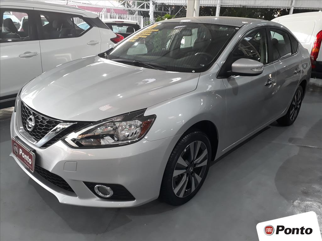 NISSAN SENTRA 2018 - 2.0 SV 16V FLEXSTART 4P AUTOMÁTICO