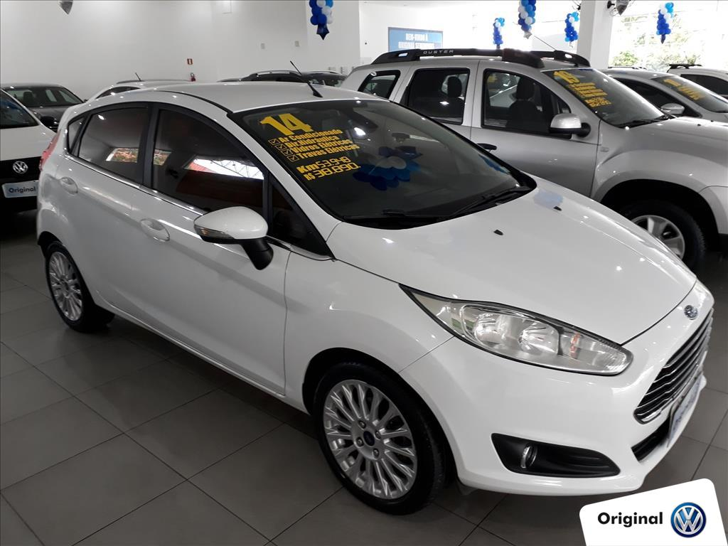 FORD FIESTA 2014 - 1.6 TITANIUM HATCH 16V FLEX 4P POWERSHIFT