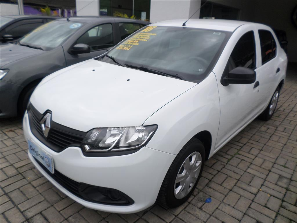 RENAULT LOGAN 2018 - 1.0 12V SCE FLEX AUTHENTIQUE 4P MANUAL