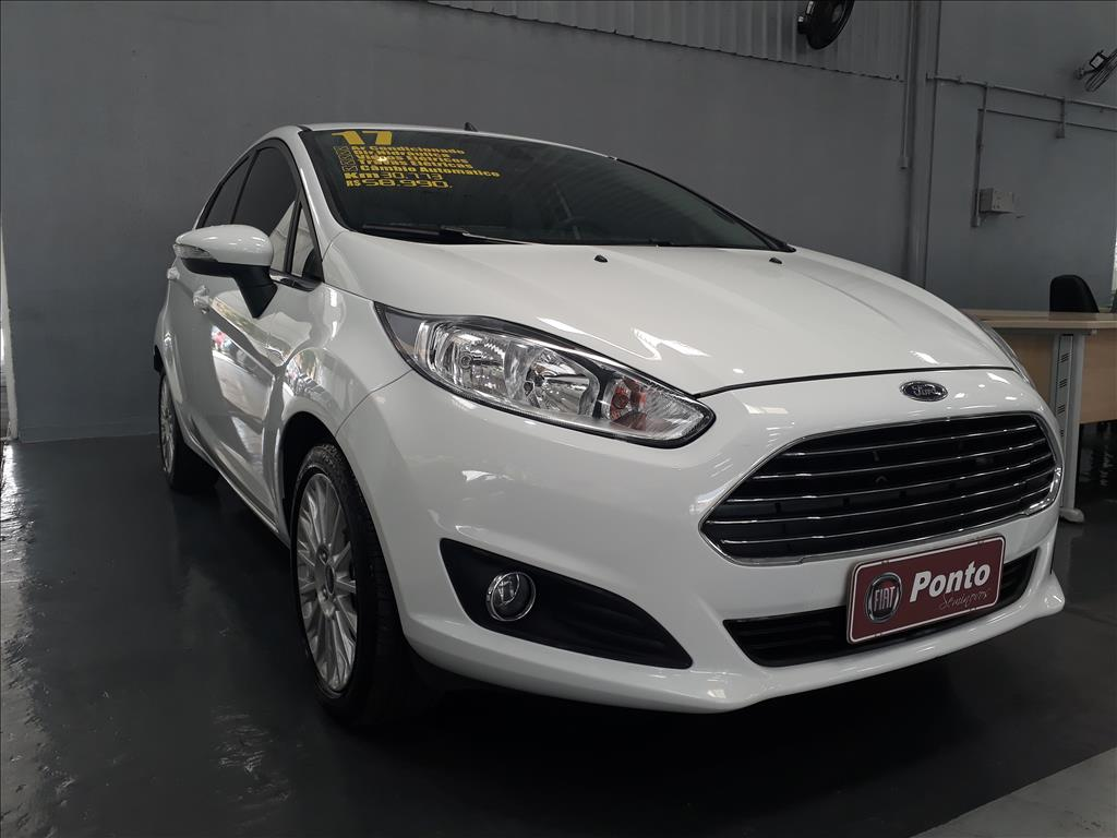 FORD FIESTA 2017 - 1.6 TITANIUM PLUS HATCH 16V FLEX 4P POWERSHIFT