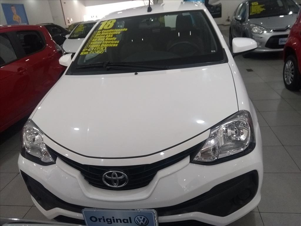 TOYOTA ETIOS 2018 - 1.5 XS 16V FLEX 4P MANUAL