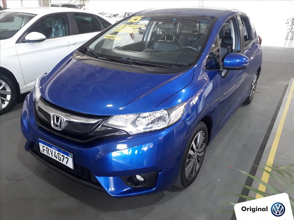HONDA FIT 2015 - 1.5 EXL 16V FLEX 4P AUTOMÁTICO