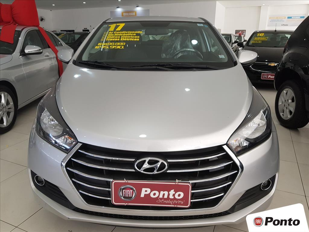 HYUNDAI HB20S 2017 - 1.6 COMFORT PLUS 16V FLEX 4P MANUAL