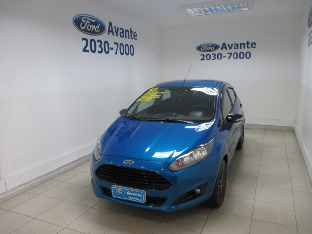 FORD FIESTA 2017 - 1.6 SEL STYLE HATCH 16V FLEX 4P MANUAL