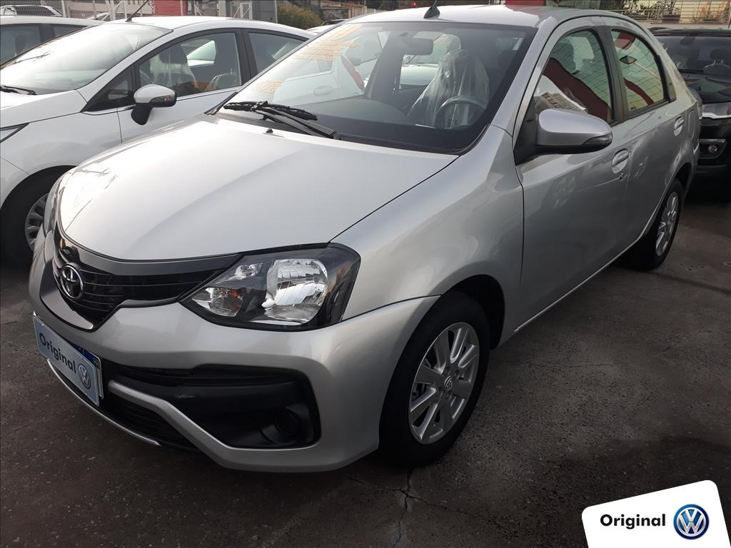 TOYOTA ETIOS 2019 - 1.5 X SEDAN 16V FLEX 4P MANUAL