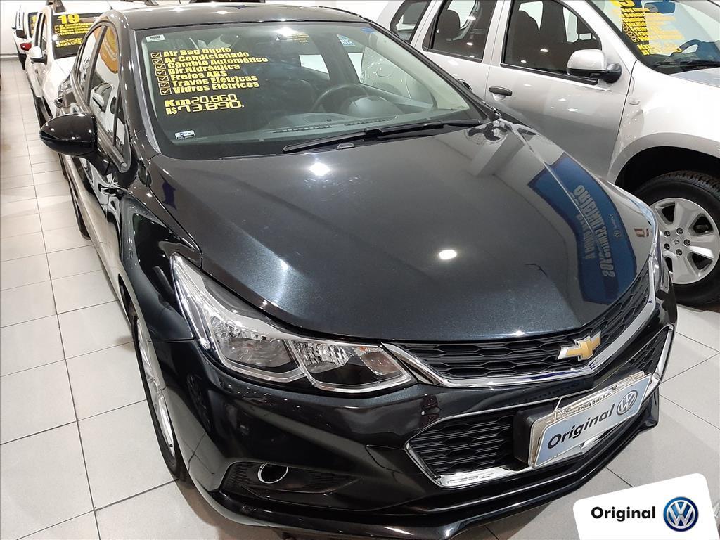 CHEVROLET CRUZE 2018 - 1.4 TURBO LT 16V FLEX 4P AUTOMÁTICO