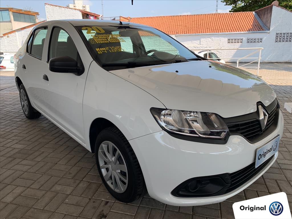 RENAULT LOGAN 2020 - 1.0 12V SCE FLEX AUTHENTIQUE 4P MANUAL