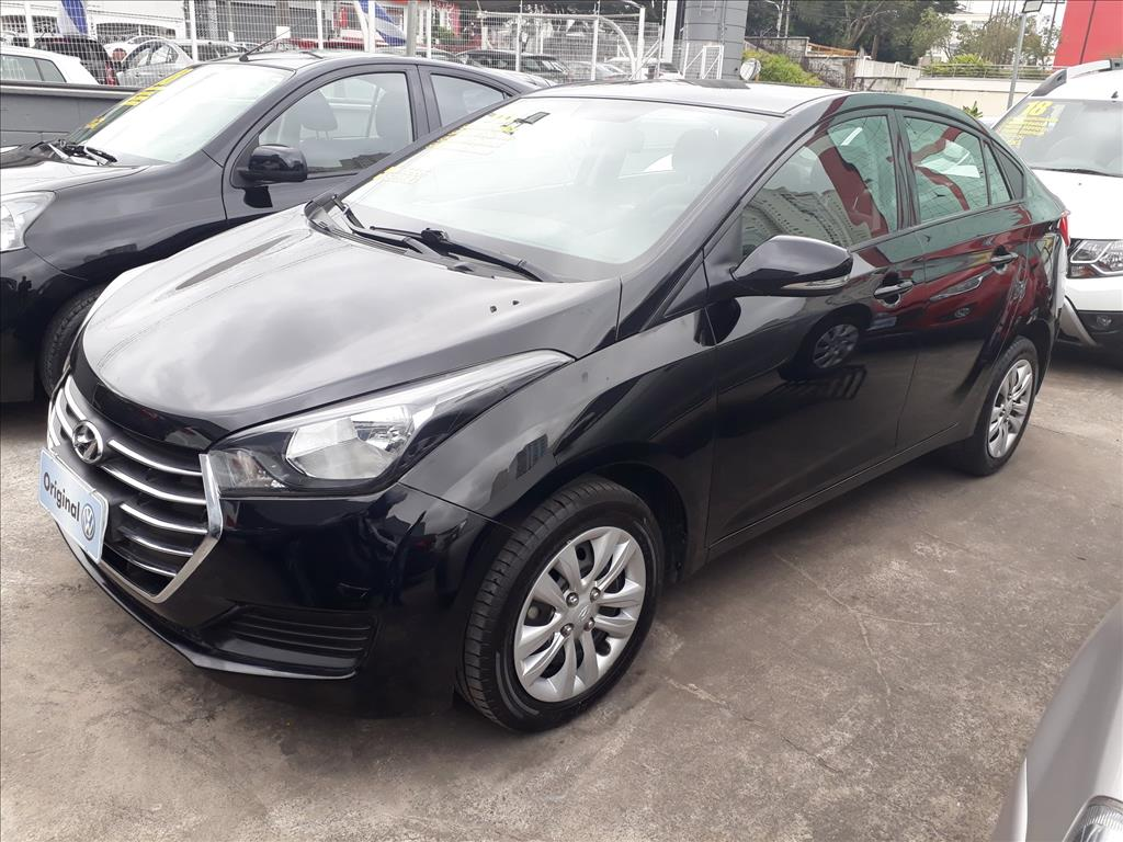 HYUNDAI HB20S 2018 - 1.6 COMFORT PLUS 16V FLEX 4P MANUAL