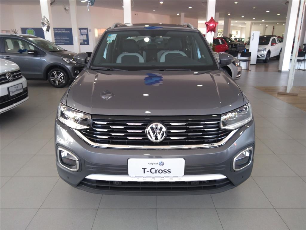 VOLKSWAGEN T-CROSS 2020 - 1.4 250 TSI TOTAL FLEX HIGHLINE AUTOMÁTICO