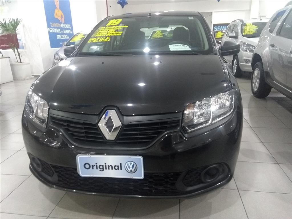 RENAULT SANDERO 2019 - 1.0 12V SCE FLEX AUTHENTIQUE 4P MANUAL