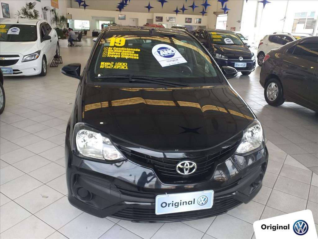 TOYOTA ETIOS 2019 - 1.5 X PLUS SEDAN 16V FLEX 4P MANUAL