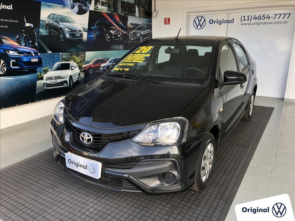TOYOTA ETIOS 2020 - 1.5 X SEDAN 16V FLEX 4P AUTOMÁTICO