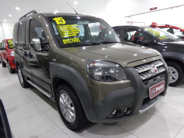 FIAT DOBLÒ 2015 - 1.8 MPI ADVENTURE 16V FLEX 4P MANUAL
