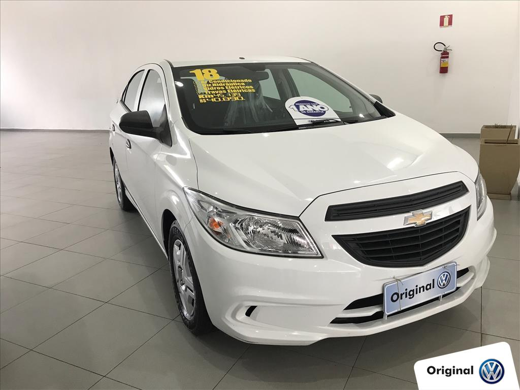 CHEVROLET ONIX 2018 - 1.0 MPFI JOY 8V FLEX 4P MANUAL
