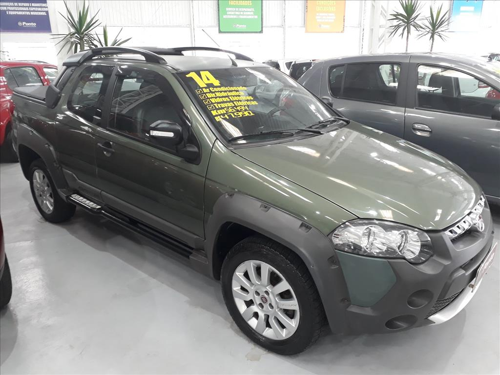 FIAT STRADA 2014 - 1.8 MPI ADVENTURE CD 16V FLEX 3P MANUAL