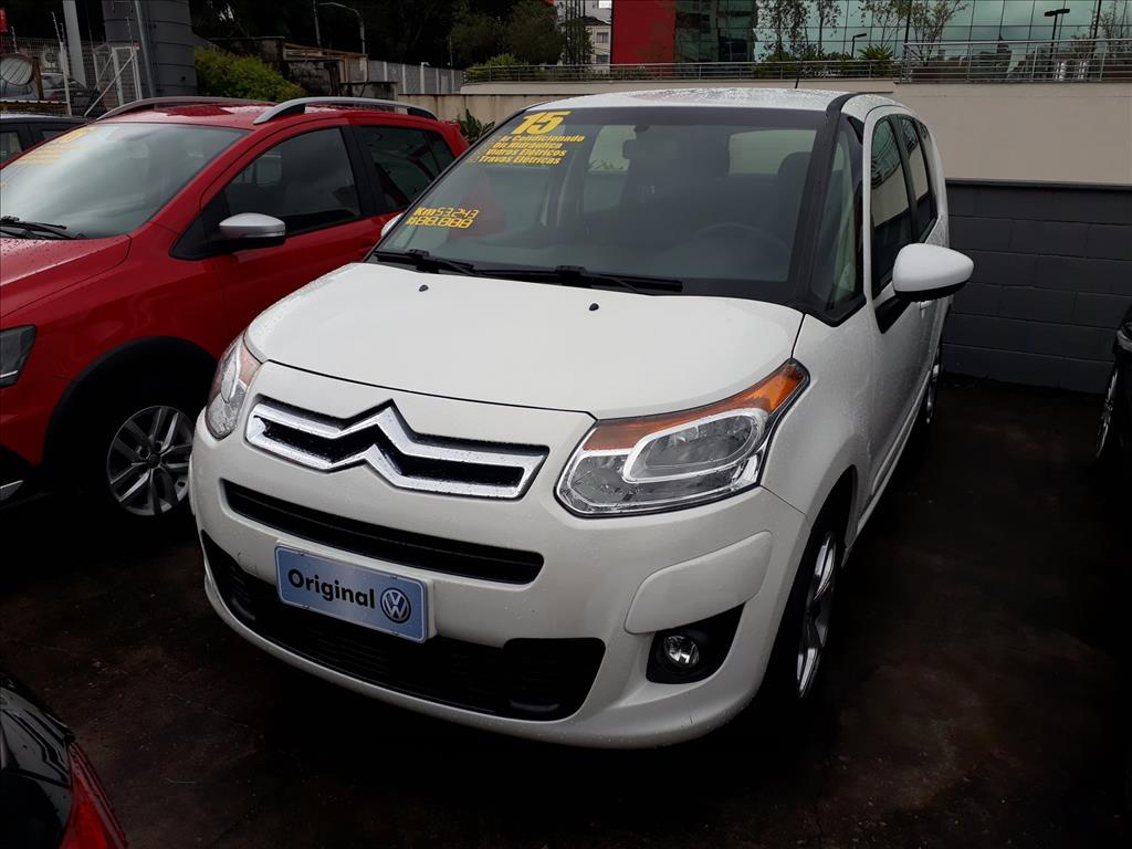 CITROËN C3 2015 - 1.5 PICASSO TENDANCE 8V FLEX 4P MANUAL