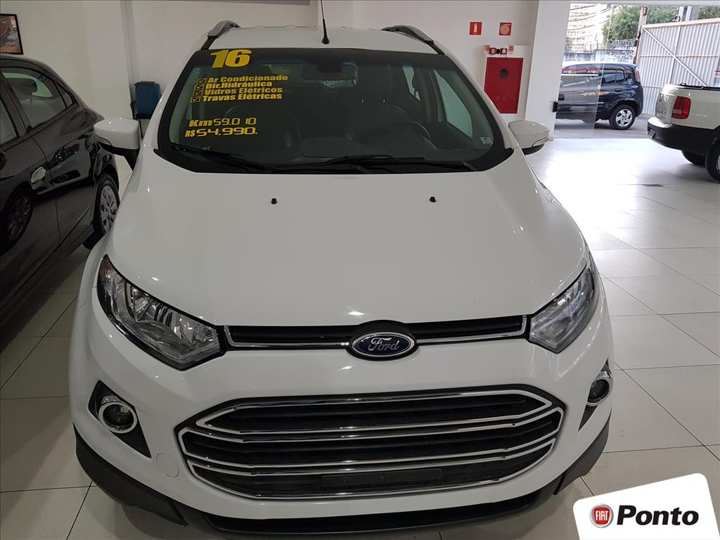 FORD ECOSPORT 2016 - 2.0 TITANIUM 16V FLEX 4P POWERSHIFT