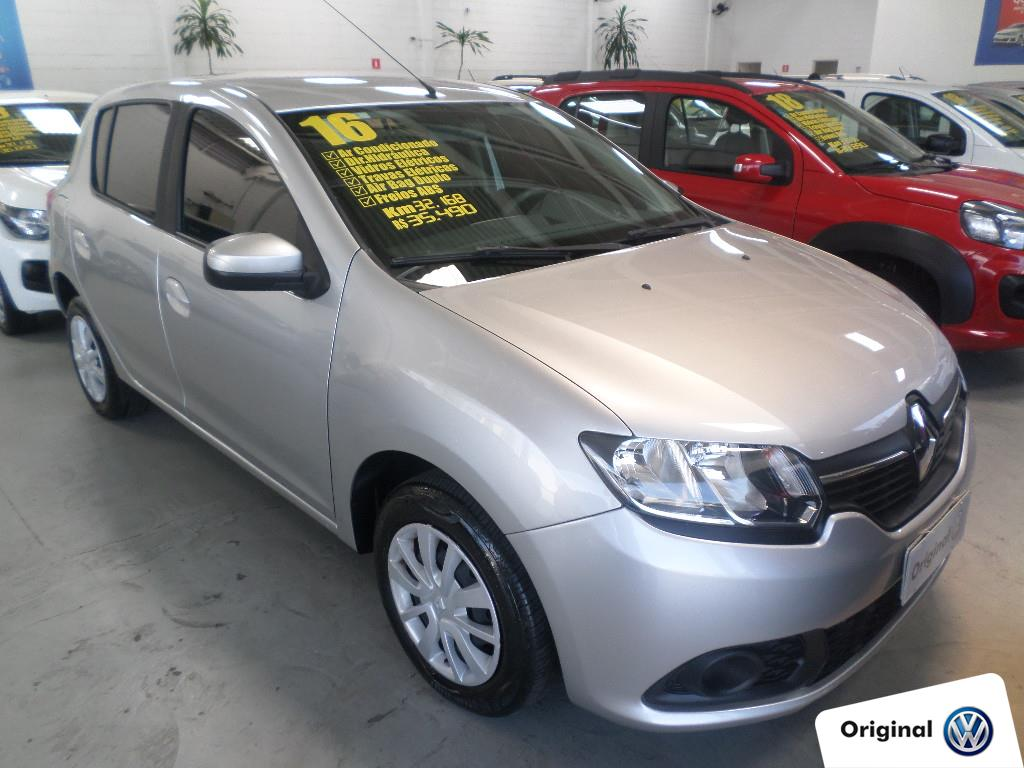 RENAULT SANDERO 2016 - 1.6 EXPRESSION 8V FLEX 4P MANUAL
