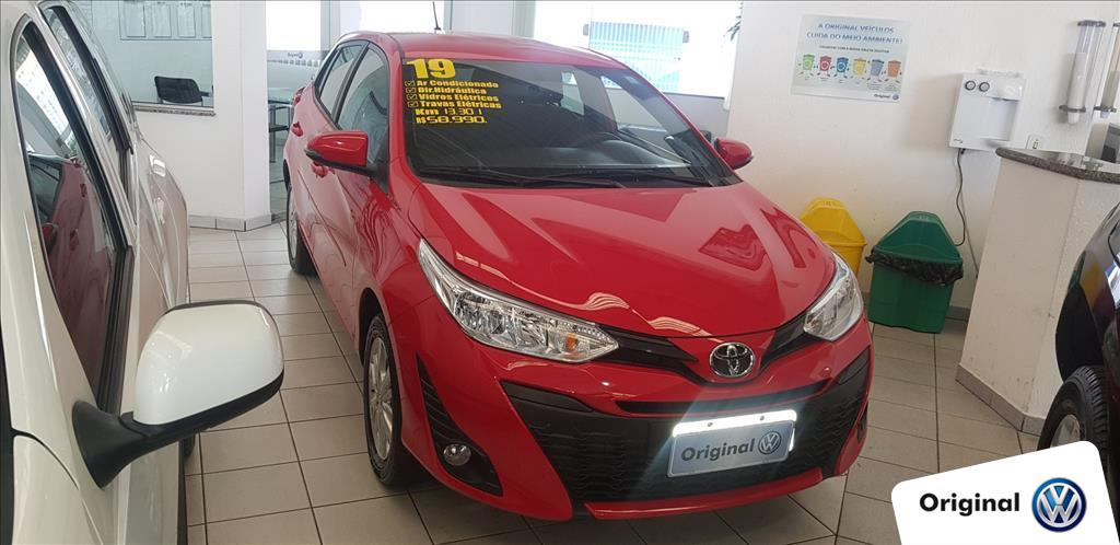 TOYOTA YARIS 2019 - 1.3 16V FLEX XL MANUAL
