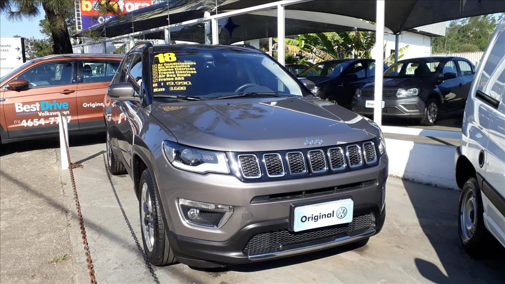 JEEP COMPASS 2018 - 2.0 16V FLEX LIMITED AUTOMÁTICO