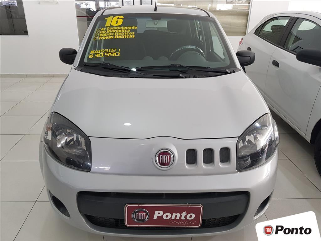 FIAT UNO 2016 - 1.0 EVO VIVACE 8V FLEX 4P MANUAL