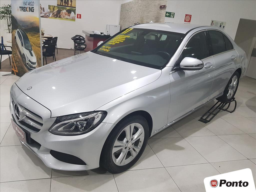 MERCEDES-BENZ C 180 2017 - 1.6 CGI ESTATE AVANTGARDE 16V TURBO GASOLINA 4P AUTOMÁTICO
