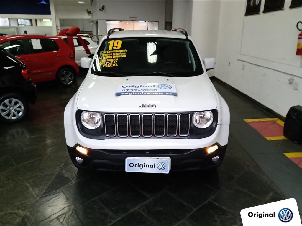 JEEP RENEGADE 2019 - 1.8 16V FLEX LONGITUDE 4P AUTOMÁTICO