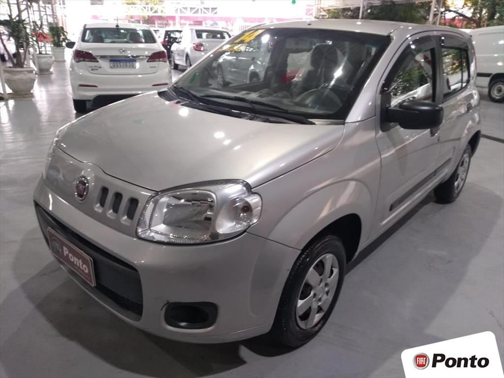 FIAT UNO 2014 - 1.0 EVO VIVACE 8V FLEX 4P MANUAL