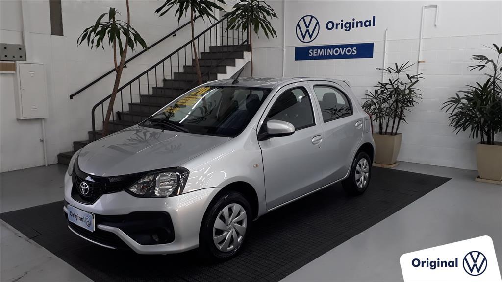 TOYOTA ETIOS 2020 - 1.3 X 16V FLEX 4P AUTOMÁTICO