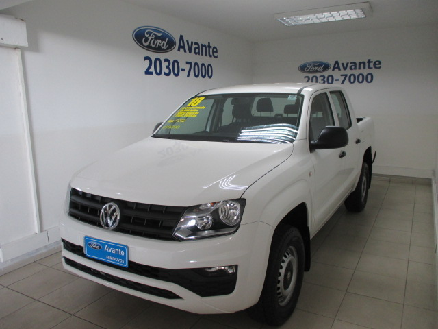 VOLKSWAGEN AMAROK 2018 - 2.0 S 4X4 CD 16V TURBO INTERCOOLER DIESEL 4P MANUAL