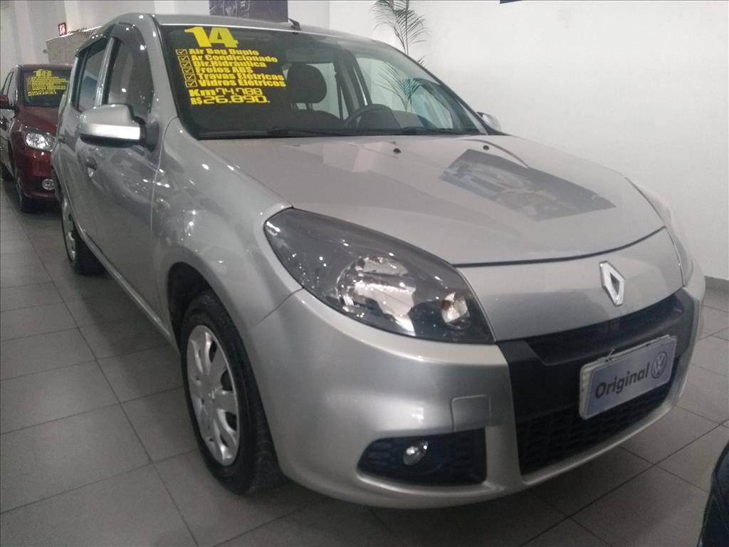 RENAULT SANDERO 2014 - 1.0 EXPRESSION 16V FLEX 4P MANUAL