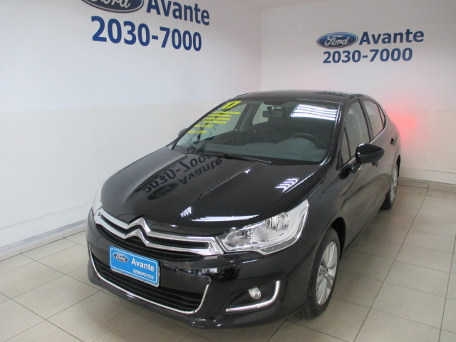 CITROËN C4 LOUNGE 2017 - 1.6 ORIGINE 16V TURBO FLEX 4P AUTOMÁTICO